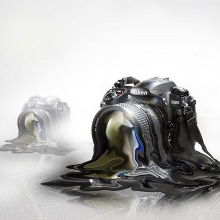 Тающая фотокамера