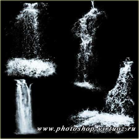"""Кисти """"Водопады 2"""""""