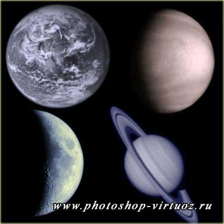 "Кисти ""Планеты 1"""