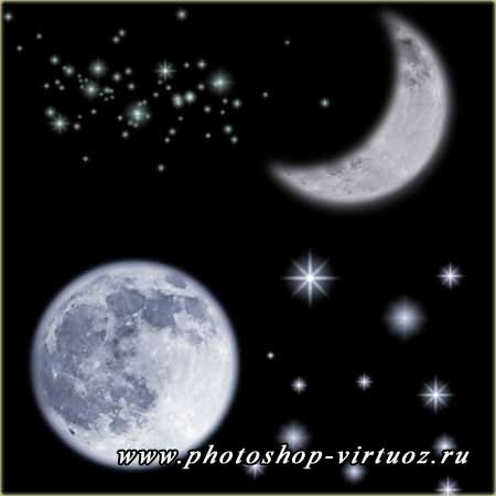 "Кисти ""Звёздная ночь"""