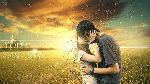 Коллаж «Последний поцелуй»