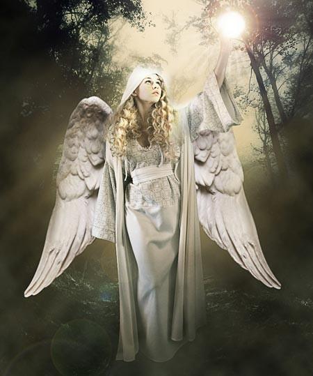 "Коллаж ""Божественный ангел"""