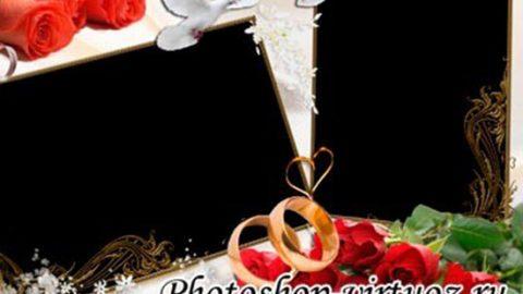 Рамка «Наша свадьба»