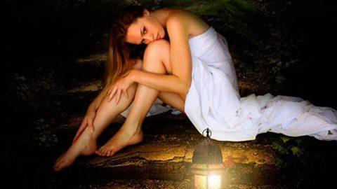 Коллаж «Одинокая ночь»