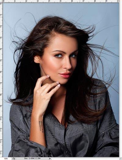 Два способа выделения волос в Фотошоп