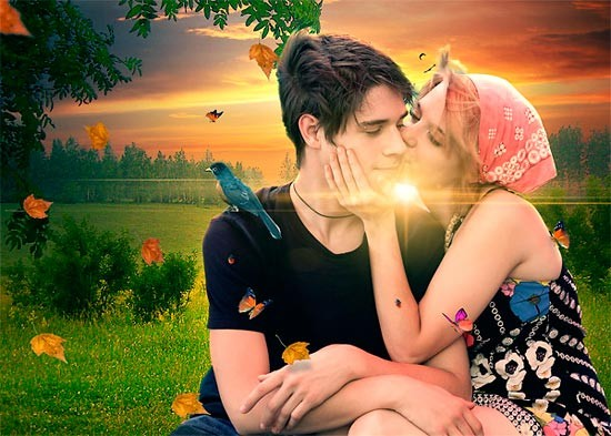 Романтический коллаж